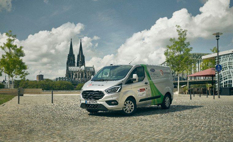 Ford Transit Custom Plug-In Hybrid Trial Cologne