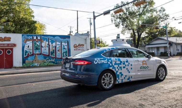Ford autonomous vehicles in Austin