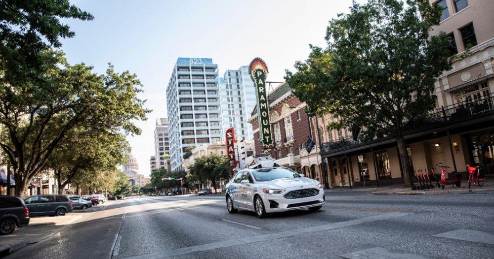 Ford autonomous vehicles in Austin   Ford Postpones Autonomous Vehicle Commercial Launch Until 2022