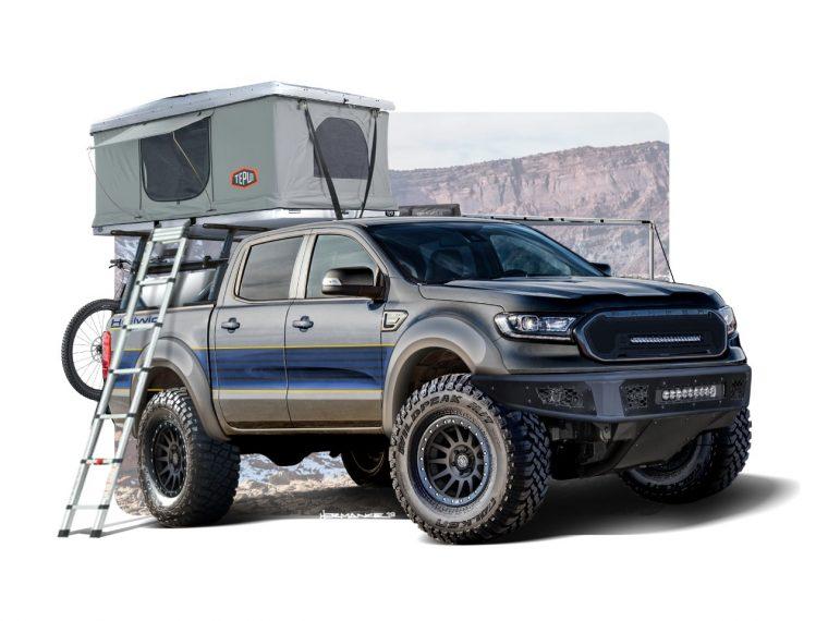 Hellwig 2019 Ford Ranger from SEMA 2019