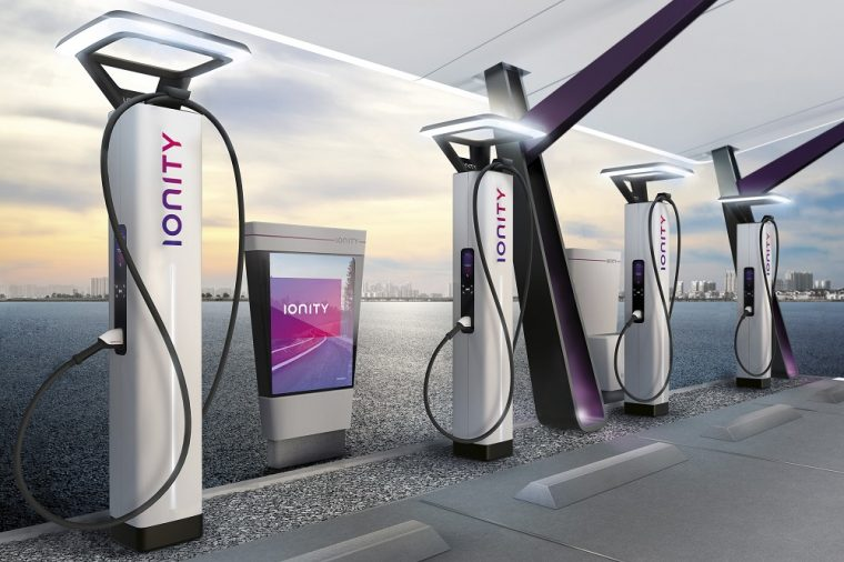 IONITY High-Power Fast-Charging Station Design Concept