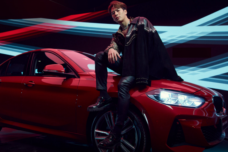 Jackson Wang Got7 BMW 1 Series F52 M Sport Sedan