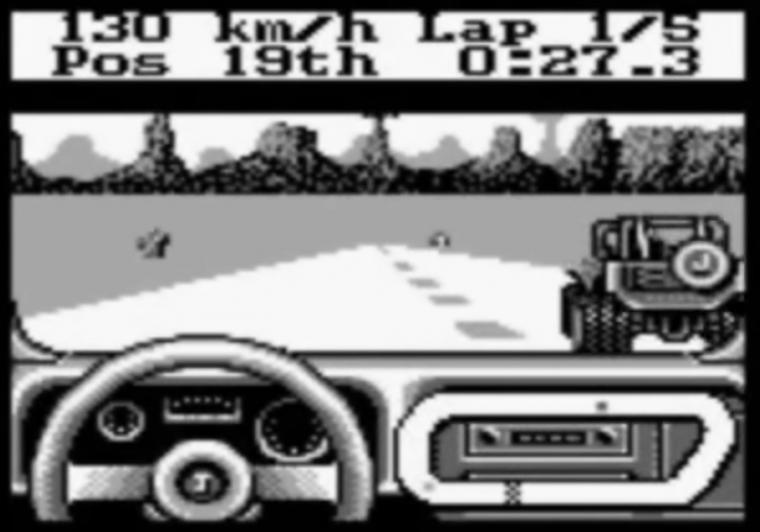 Jeep Jamboree Off Road Adventure Game Boy Jeep video game retro Nintendo