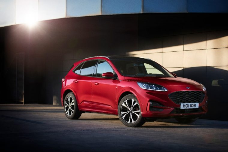 Ford Kuga 5-star safety rating Euro NCAP
