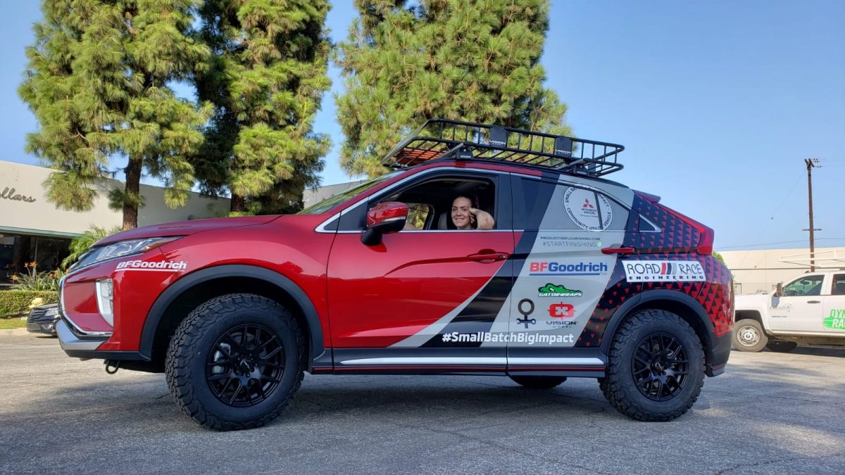 Mitsubishi Eclipse Cross for Rebelle Rally