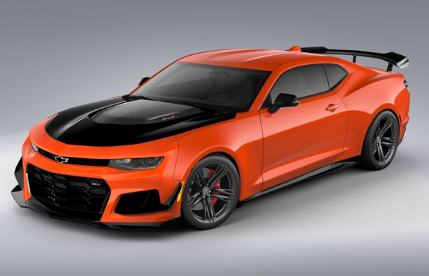 Design Your Dream Machine with the 2020 Camaro ...