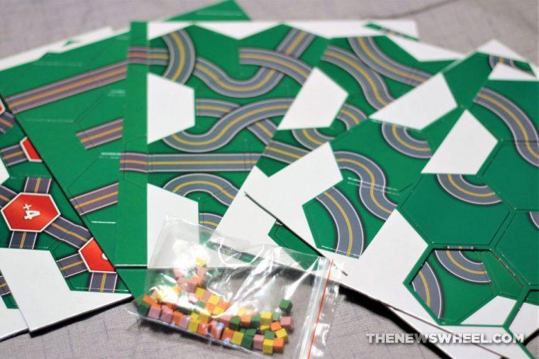 Seismic Asphalt & Paving Co. game review earthquake road destruction tile packaging