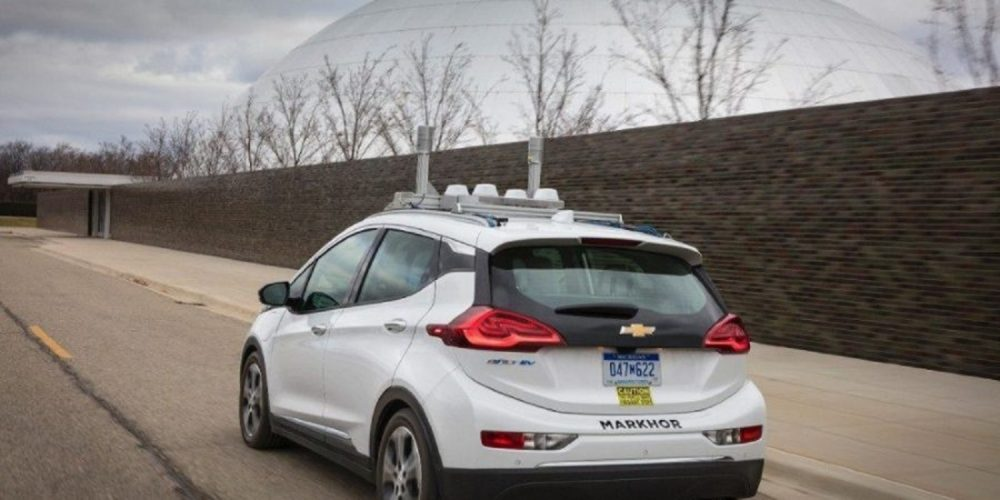 Self-driving Chevy Bolt