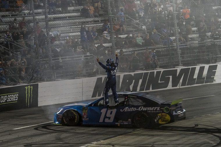 Truex Wins NASCAR Cup Series at Martinsville