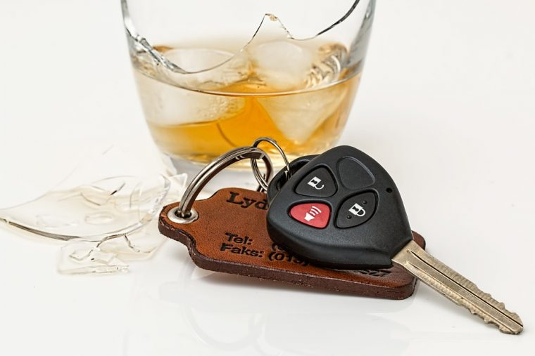 drunk driving in-car breathalyzers