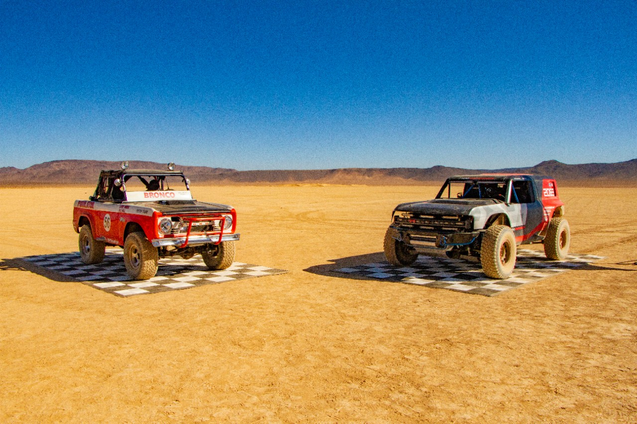 1969 Ford Bronco R 1000 and Ford Bronco R prototype 2