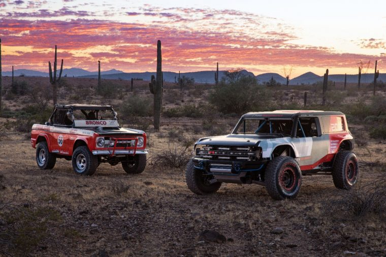 1969 Ford Bronco R 1000 and Ford Bronco R prototype