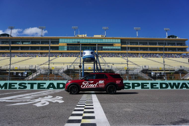 2020 Ford Explorer ST NASCAR XFINITY Series Ford EcoBoost 300 pace car
