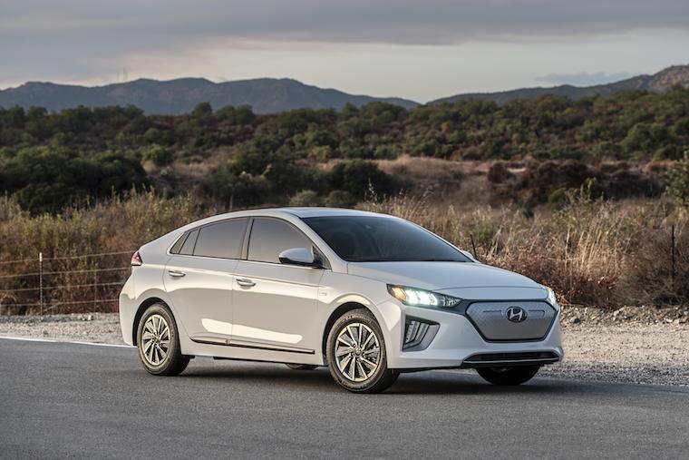 Hyundai Ioniq Canada February sales