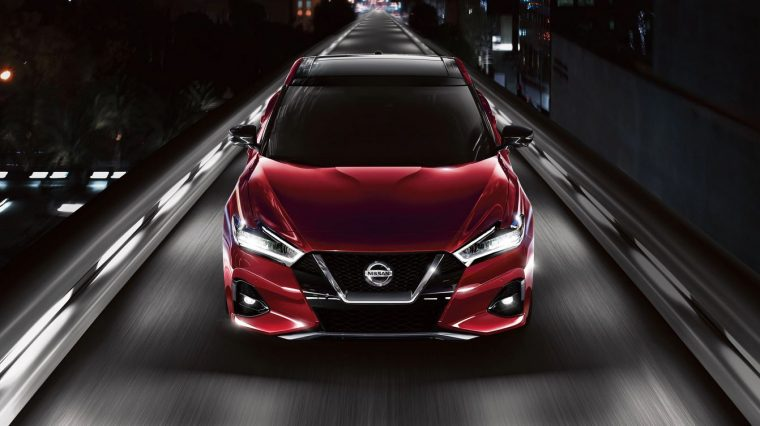 2020 Nissan Maxima Earns Superior Rating For Pedestrian