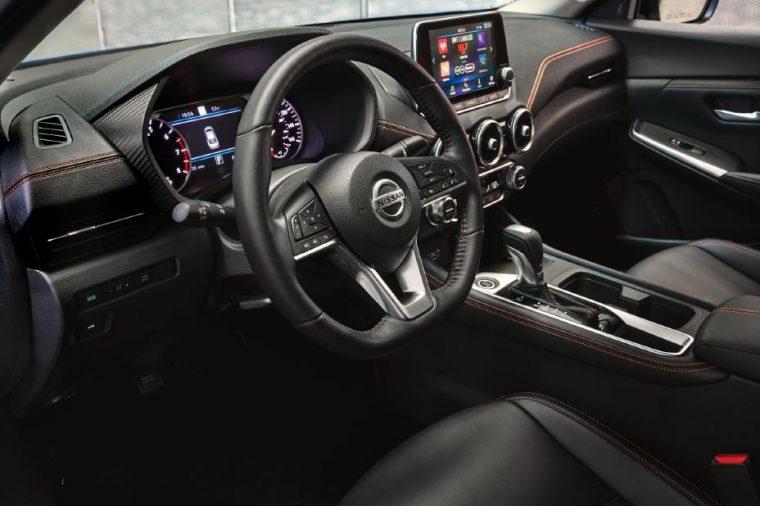 2020 Nissan Sentra interior