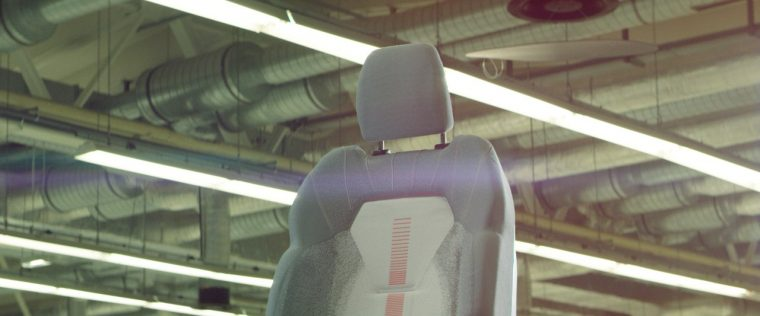 3D-knitted car seat covers