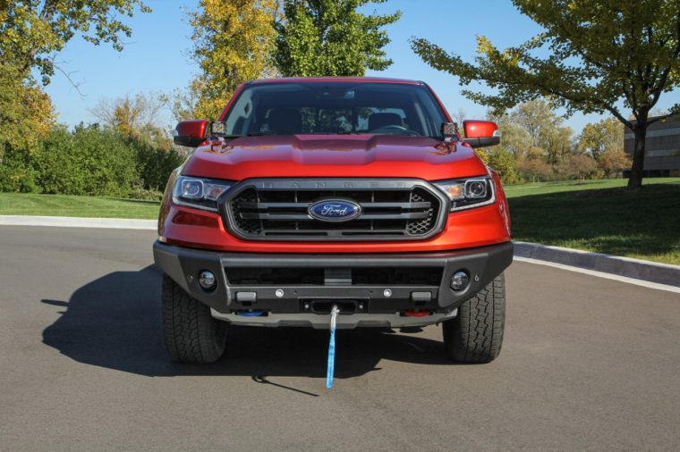 ARB Ford Ranger winch-capable bumper