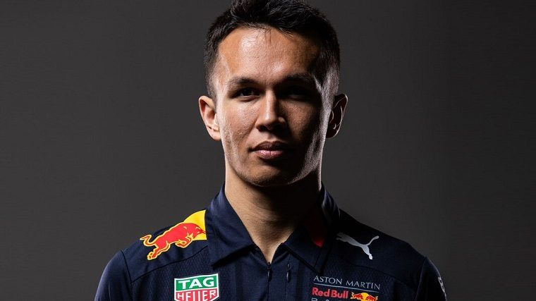 Alexander Albon 2020 Announcement