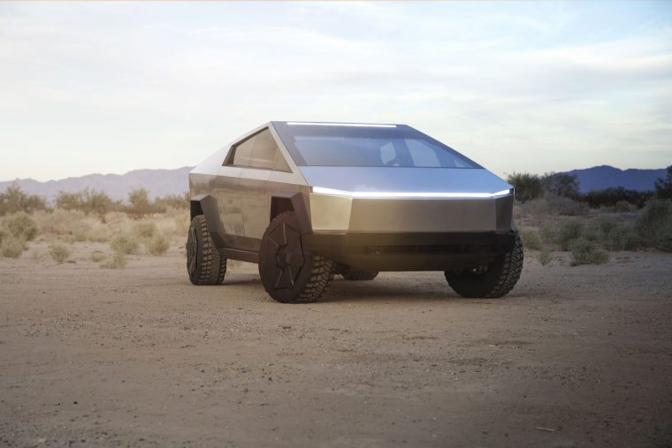 Tesla Cybertruck design reveal