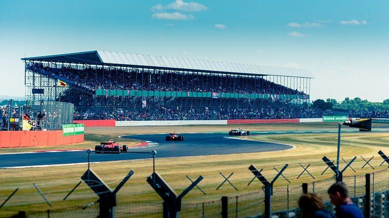 F1 Cars at 2018 British GP
