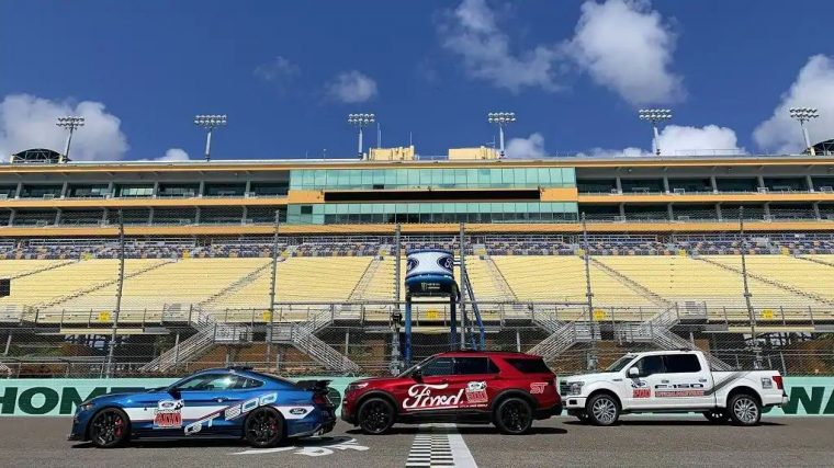 Ford Championship Weekend 2019 pace cars