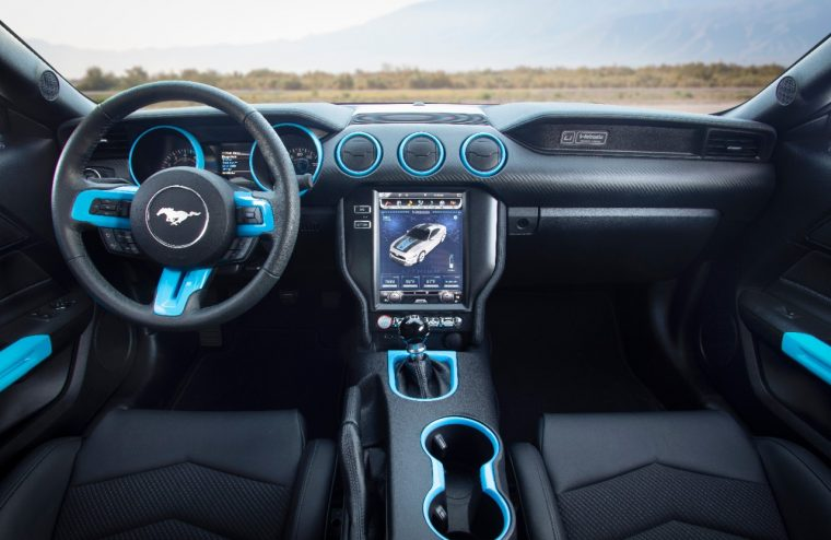 Ford Mustang Lithium prototype SEMA