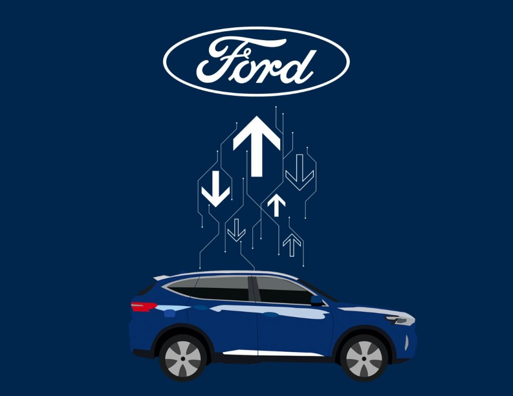 Ford over-the-air update technology