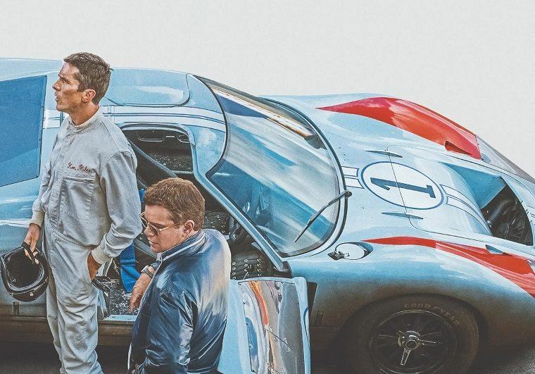 Ford v Ferrari Textless Poster