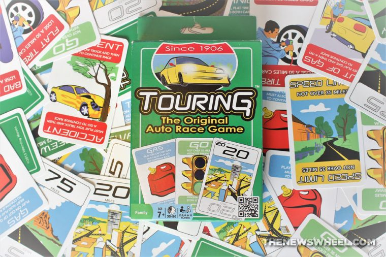 History of Touring Card game original automobile racing vintage origin
