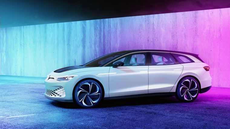 VW's next generation concept car, the ID. SPACE VIZZION
