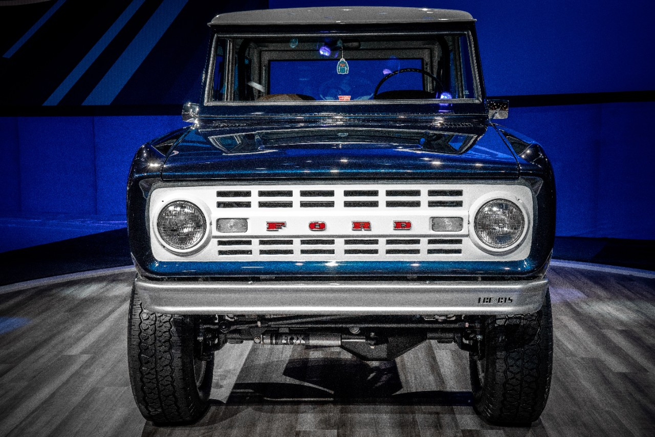 Jay Leno's 1968 Ford Bronco Has a Shelby GT500... - The News Wheel