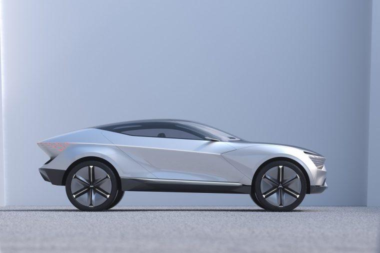 Kia Futuron Concept Electric SUV Coupe