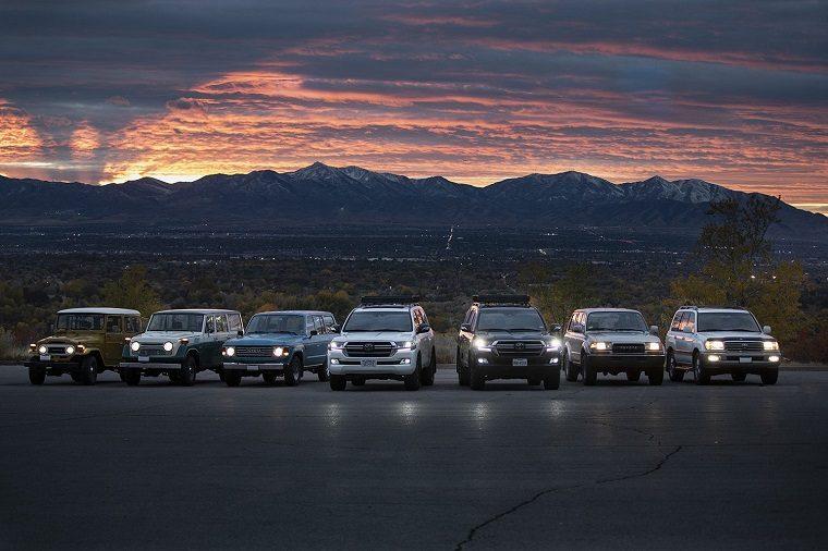 Toyota Land Cruiser family