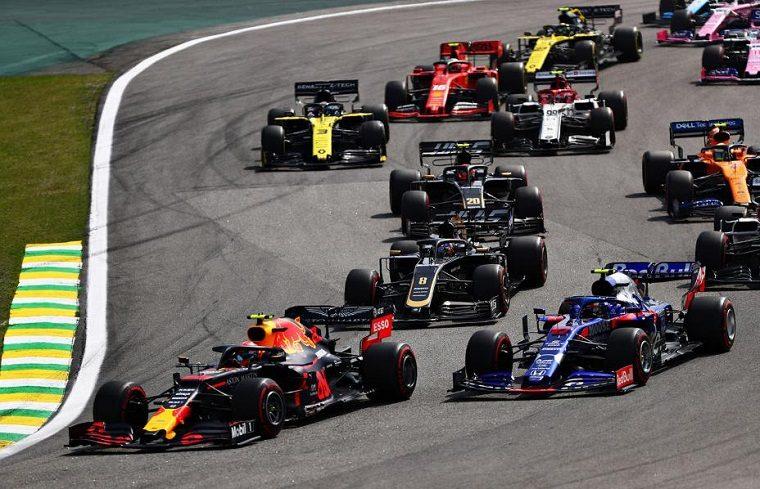 Verstappen Leads at 2019 Brazil GP