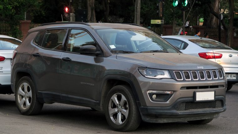 2018 Jeep Compass Sport gray