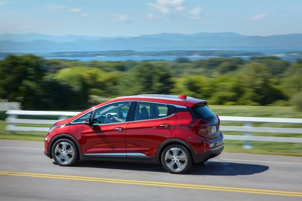 2020 Chevrolet Bolt EV. Buick electric crossovers