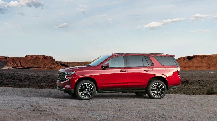 2021 Chevrolet Tahoe size of SUVs