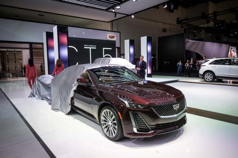 Cadillac 2019 Dubai International Motor Show