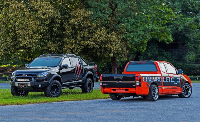 Chevrolet Colorado Panther and RS Street Concepts