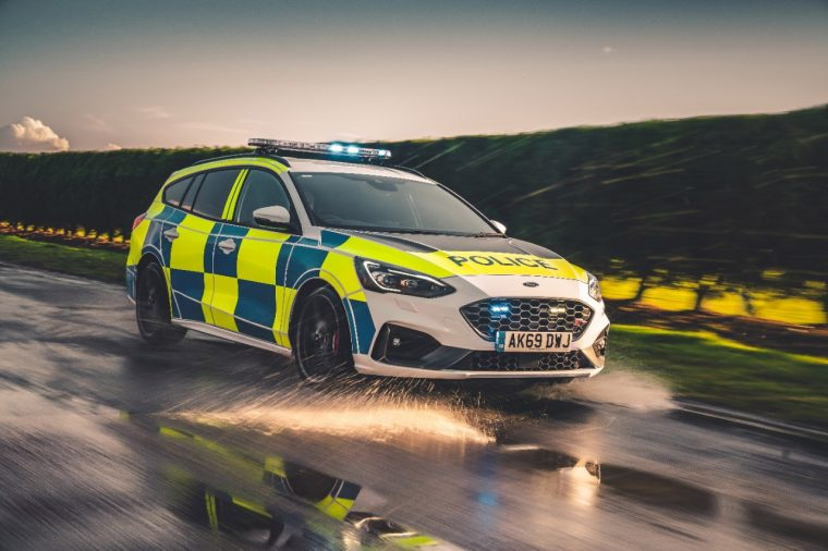 Ford Focus ST police