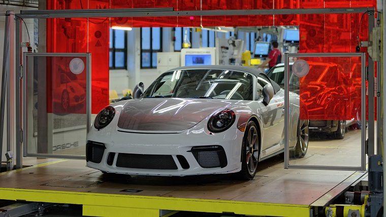 Last 2019 Porsche 911 Speedster rolling off production