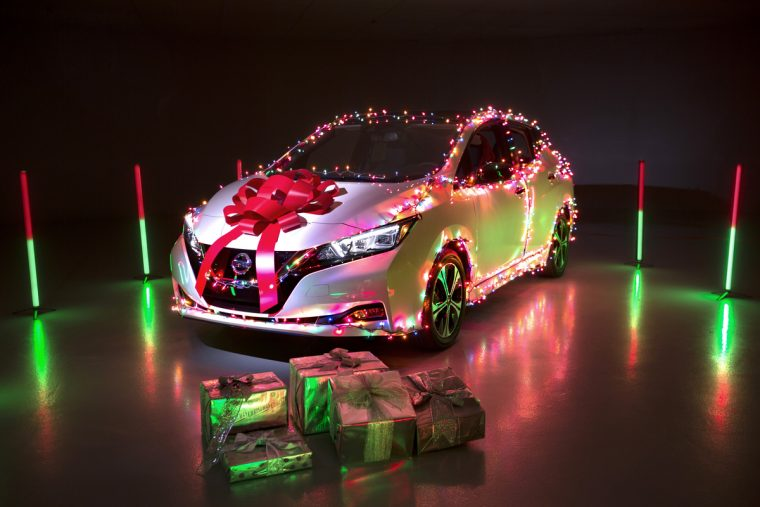 Nissan Christmas 2020 Nissan LEAF can Go Christmas Caroling with a New Downloadable