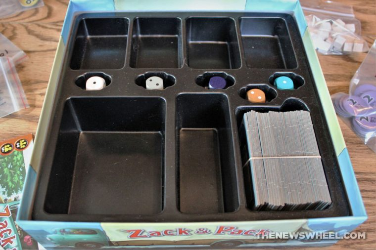 Pack & Stack review moving truck game Tetris shapes puzzle box