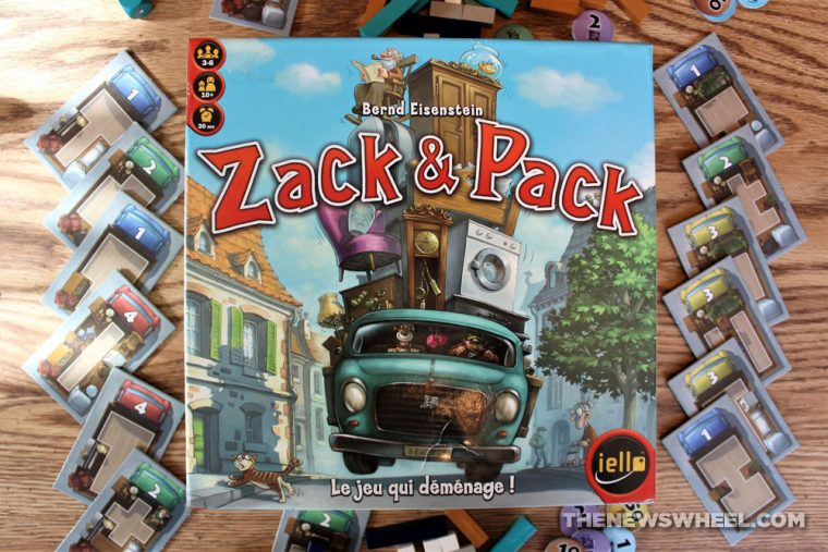 Pack & Stack review Zack Zak moving truck game Tetris shapes puzzle buy