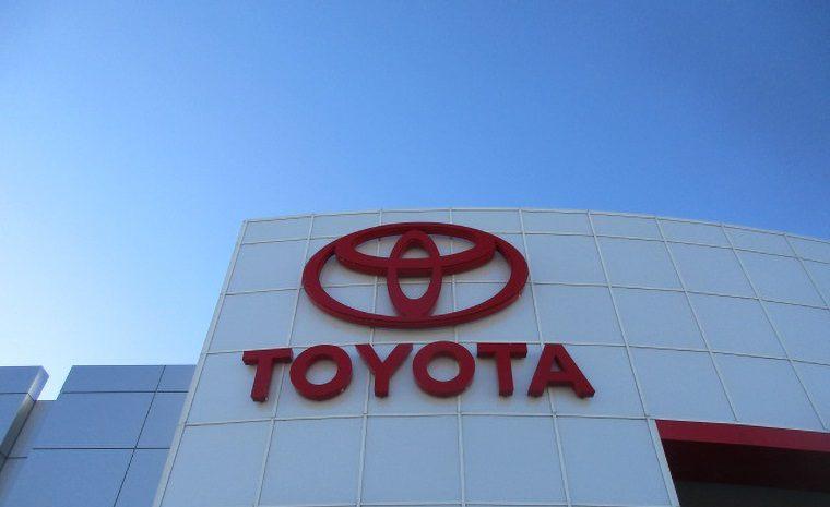 Toyota Dealership Front Sign