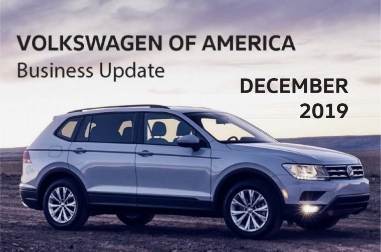 VW publishes its November sales reports