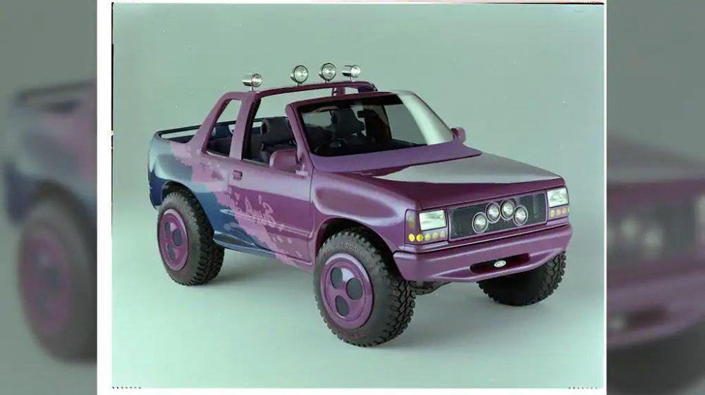 1990 Ford Explorer Surf Concept