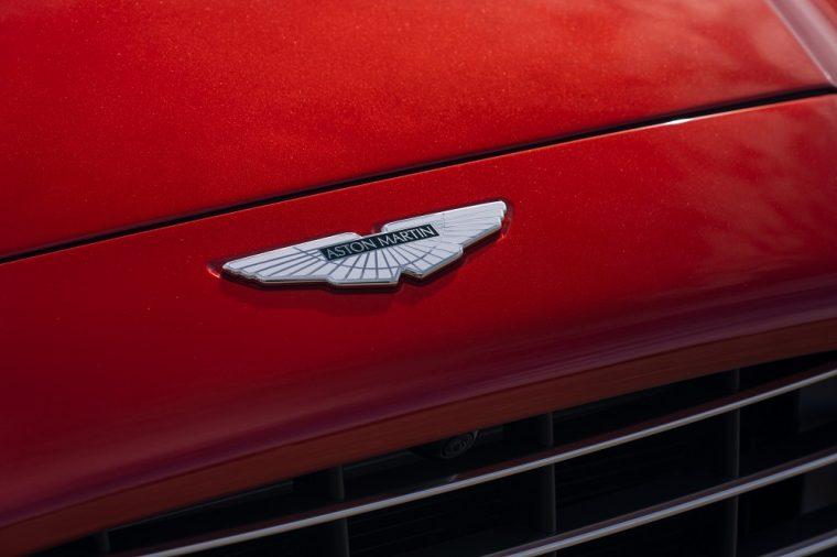 2020 Aston Martin DBX badge logo