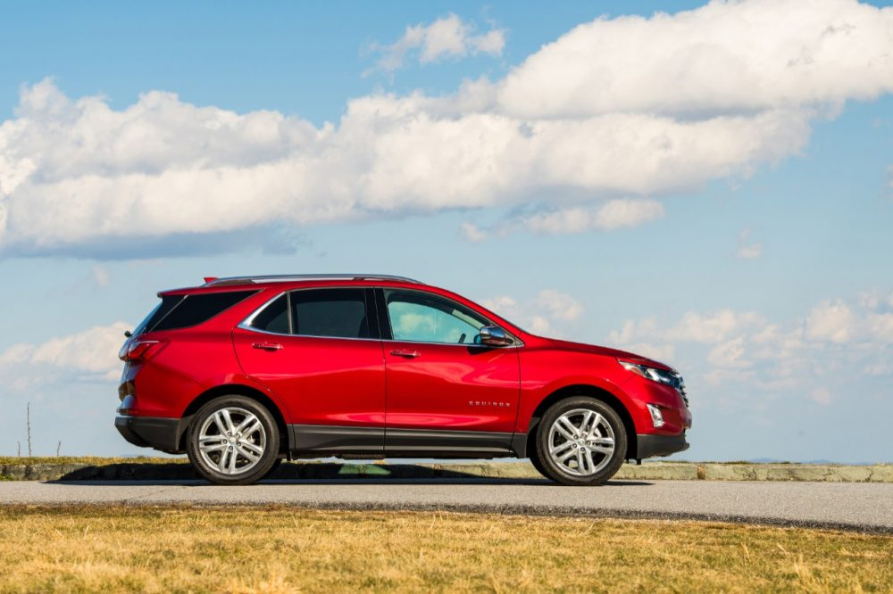 2020 Chevrolet Equinox makes 2020 Safe Vehicles for Teens